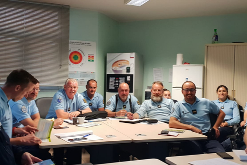 formation gendarmes Arras