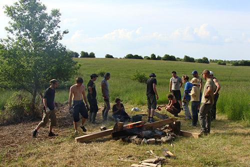 Brûlage du bois : l'atelier bois
